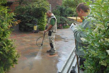 Opleveren & reinigen tuin